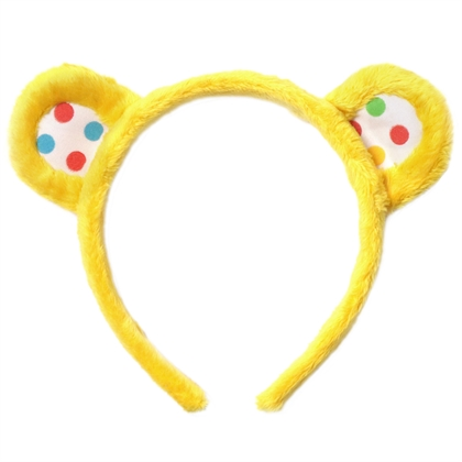 Wearable classic Pudsey bear yellow Ears