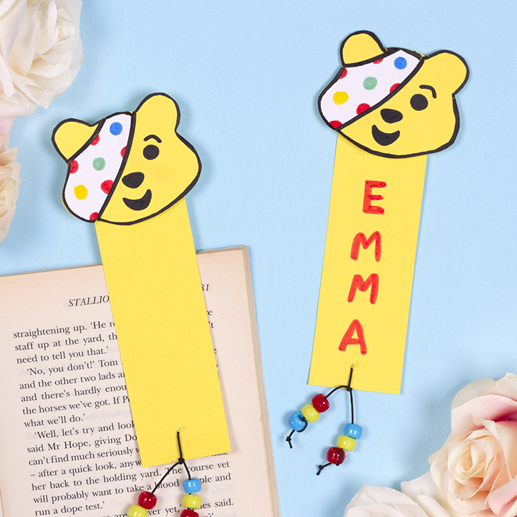 Pudsey bookmarks